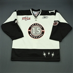 Goldie, Ash<br>White Kelly Cup Finals<br>Las Vegas Wranglers 2011-12<br>#15 Size: 54