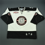 May, Jeff<br>White Kelly Cup Finals<br>Las Vegas Wranglers 2011-12<br>#5 Size: 56