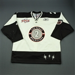 Fritsch, Jamie<br>White Kelly Cup Finals<br>Las Vegas Wranglers 2011-12<br>#2 Size: 56