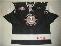 Fritsch, Jamie<br>Black Kelly Cup Finals (A removed)<br>Las Vegas Wranglers 2011-12<br>#2 Size: 56