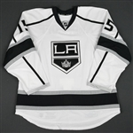 Andreoff, Andy<br>White Set 3 / Playoffs - Game-Issued (GI)<br>Los Angeles Kings 2015-16<br>#15 Size: 56