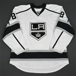 Doughty, Drew<br>White Set 3 / Playoffs<br>Los Angeles Kings 2015-16<br>#8 Size: 56