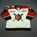 Bisaillon, Sebastien<br>White Set 1<br>Wheeling Nailers 2010-11<br>#4 Size: 58