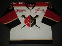 Brown, Mike<br>White Set 1<br>Wheeling Nailers 2010-11<br>#30 Size: 58G