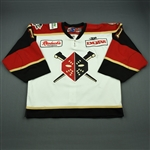 Killeen, Patrick<br>White Set 1<br>Wheeling Nailers 2010-11<br>#1 Size: 58G