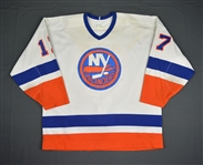 Dalgarno, Brad * <br>White<br>New York Islanders 1987-88<br>#17