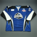 Dickson, John-Scott<br>Blue Kelly Cup Finals - Game 3 & 4<br>Idaho Steelheads 2009-10<br>#15 Size:56