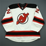 Barch, Krystofer<br>White Set 2<br>New Jersey Devils 2012-13<br>#22 Size: 58+
