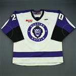 Cowan, Dave<br>White Set 1<br>Reading Royals 2011-12<br>#20 Size: 56