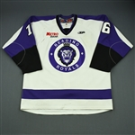 Cruthers, Ryan<br>White Set 1 (C removed)<br>Reading Royals 2011-12<br>#16 Size: 56