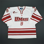 Saunders, Shawn<br>White<br>University of Massachusetts 2009-10<br>#9 Size:XL