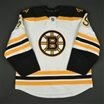 Acciari, Noel<br>White Set 1<br>Boston Bruins 2016-17<br>#55 Size: 56