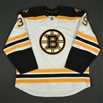 Beleskey, Matt<br>White Set 1<br>Boston Bruins 2016-17<br>#39 Size: 56