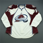 Bournival, Michael<br>White Set 1 - Training Camp Only<br>Colorado Avalanche 2010-11<br>#59 Size: 56