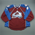 Aittokallio, Sami<br>Burgundy Set 1 - Backed Up Only<br>Colorado Avalanche 2012-13<br>#30 Size: 58G