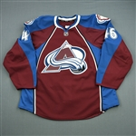 Elliott, Stefan<br>Burgundy Set 1<br>Colorado Avalanche 2012-13<br>#46 Size: 56
