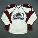 Elliott, Stefan<br>White Set 1<br>Colorado Avalanche 2012-13<br>#46 Size: 56