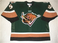 Emmerson, Riley<br>Green Set 1<br>Utah Grizzlies 2011-12<br>#59 Size: 58