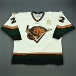 McIlveen, Paul<br>White Set 1 (A removed)<br>Utah Grizzlies 2011-12<br>#22 Size: 56