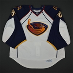 Mason, Chris * <br>White Set 2 - Photo-Matched<br>Atlanta Thrashers 2010-11<br>#50 Size: 58G