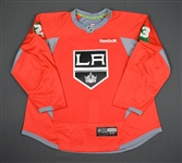 Brown, Dustin<br>Red, Holiday Warm-up, December 22, 2015, Autographed<br>Los Angeles Kings 2015-16<br>#23 Size: 58