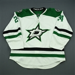 Benn, Jordie<br>White Set 2<br>Dallas Stars 2013-14<br>#24 Size: 58