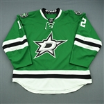 Chiasson, Alex<br>Green Set 2<br>Dallas Stars 2013-14<br>#12 Size: 58