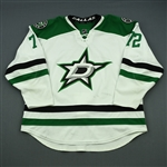 Cole, Erik<br>White Set 2<br>Dallas Stars 2013-14<br>#72 Size: 58