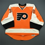 Bryzgalov, Ilya<br>Orange Set 3 Playoffs<br>Philadelphia Flyers 2011-12<br>#30 Size: 58G