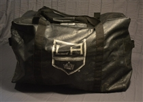 Pearson, Tanner<br>Black Vinyl Equipment Bag<br>Los Angeles Kings 2014-15<br>#70 Size: 30  x 15  x 20