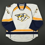 Bitetto, Anthony<br>White Set 1<br>Nashville Predators 2016-17<br>#2 Size: 56