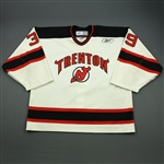 Brown, Mike<br>White Set 1<br>Trenton Devils 2010-11<br>#39 Size: 58G