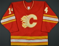 Fleury, Theo * <br>Red<br>Calgary Flames 1988-89<br>#14