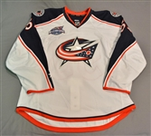 Anderson, Josh<br>White Set 2 w/All-Star Game Patch<br>Columbus Blue Jackets 2014-15<br>#53 Size: 56