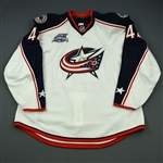 Anisimov, Artem<br>White Set 2 w/All-Star Game Patch<br>Columbus Blue Jackets 2014-15<br>#42 Size: 58+