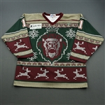 Comrie, Adam * <br>Ugly Christmas Sweater - Worn December 13, 2014 - Autographed<br>Reading Royals 2014-15<br>#11 Size: XXL