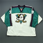 Banham, Frank * <br>Alternate Set 2<br>Mighty Ducks of Anaheim 1997-98<br>#29 Size: 54