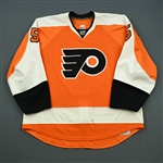Coburn, Braydon<br>Orange Set 1<br>Philadelphia Flyers 2010-11<br>#5 Size: 58