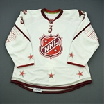 Yandle, Keith<br>White Set 2 of 3 - Game-Issued (GI) before Fantasy Draft<br>All Star 2010-11<br>#3 Size: 56