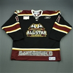 Trukhno, Vyacheslav<br>Black Bakersfield Condors All-Star Classic Jersey<br>All Star 2010-11<br>#11