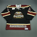 Cascalenda, Jay<br>Black Bakersfield Condors All-Star Classic Jersey<br>All Star 2010-11<br>#14