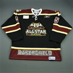 Rullier, Joe<br>Black Bakersfield Condors All-Star Classic Jersey GI<br>All Star 2010-11<br>#5