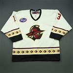 Bendickson, Aaron<br>White Set 1<br>Gwinnett Gladiators 2010-11<br>#13 Size: 54
