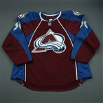 Cohen, Colby<br>Burgundy Set 1 - NHL Debut<br>Colorado Avalanche 2010-11<br>#36 Size: 58