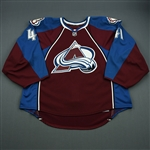 Anderson, Craig<br>Burgundy Set 2<br>Colorado Avalanche 2010-11<br>#41 Size: 58G