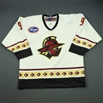 Davies, Michael<br>White Set 1<br>Gwinnett Gladiators 2010-11<br>#9 Size: 52
