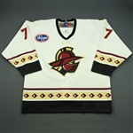 Forney, Michael<br>White Set 1<br>Gwinnett Gladiators 2010-11<br>#77 Size: 54