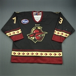 McKenzie, Ian<br>Black Set 1<br>Gwinnett Gladiators 2010-11<br>#73 Size: 56