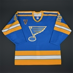 Rycroft, Mark * <br>Blue Vintage<br>St. Louis Blues 2003-04<br>#42 Size: 54