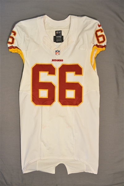 Chester, Chris<br>White Regular Season<br>Washington Redskins 2014<br>#66 Size: 46 LINE